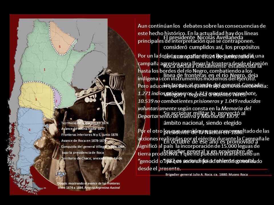Los indios prisioneros y los reducidos comenzaron a transitar diferentes caminos cuyos destinos fueron los ingenios y obrajes del norte argentino, el servicio doméstico en la ciudad de Buenos Aires o las reservas de la región patagónica.