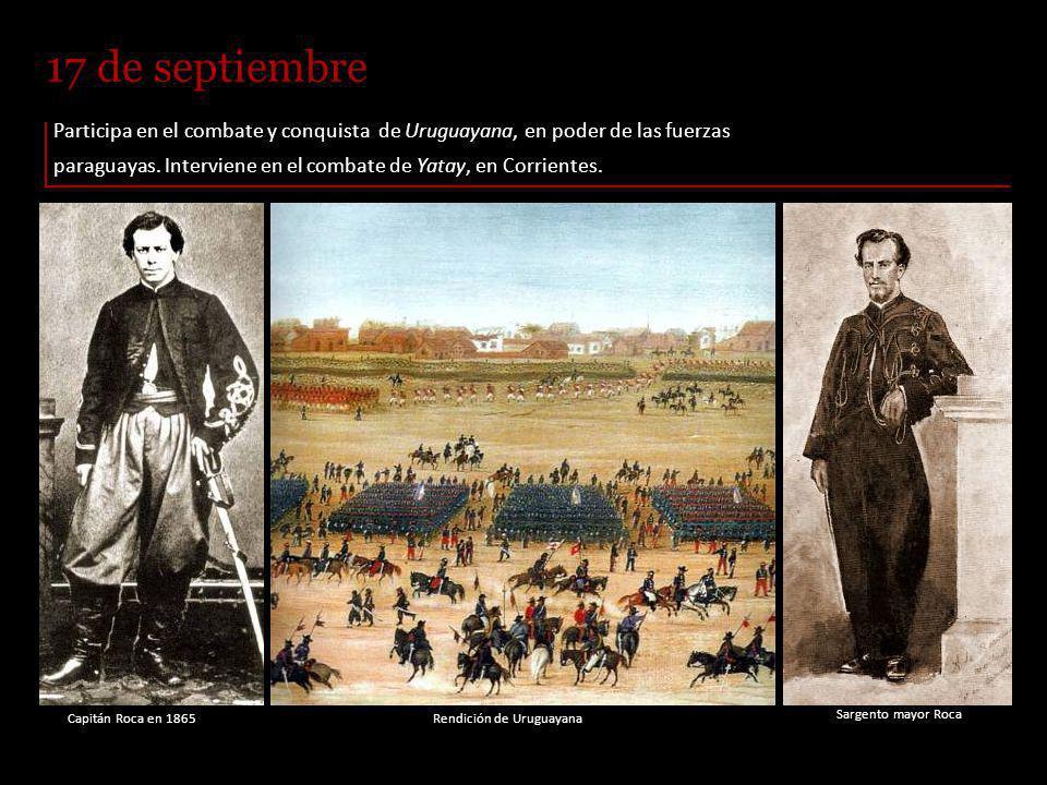 Campamento argentino frente a Uruguayana, 14 de septiembre de 1865.