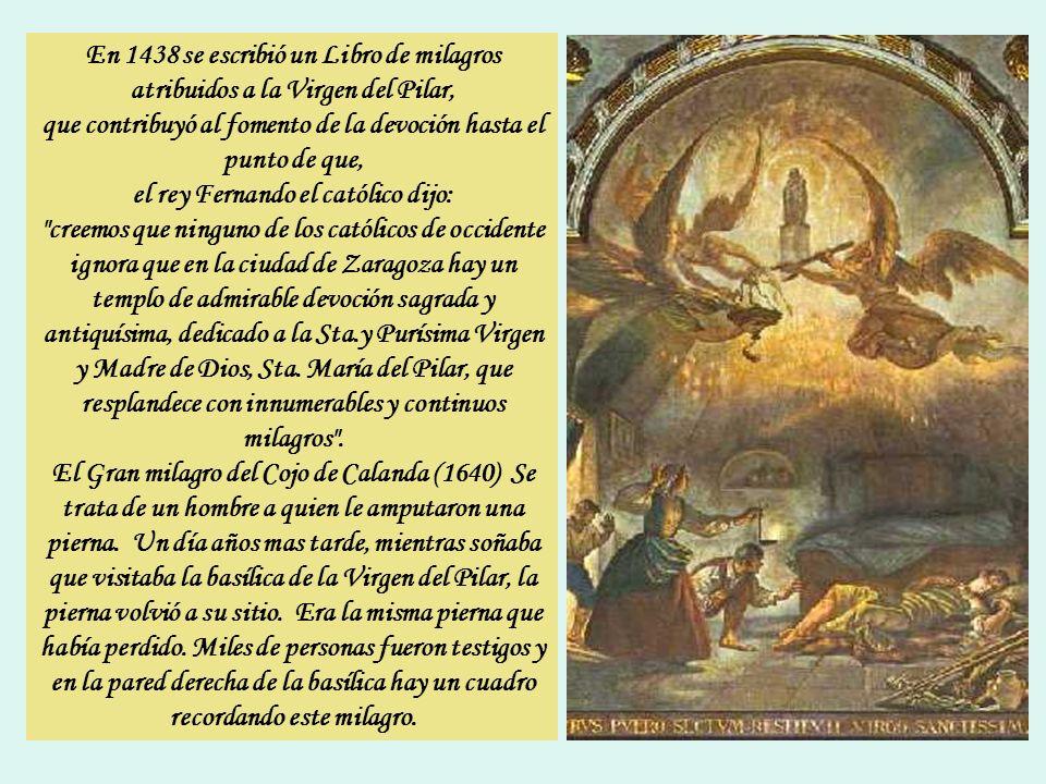 Asimismo, hacia el año 835, un monje de San Germán de París, llamado Almoino, redactó unos escritos en los que habla de la Iglesia de la Virgen María