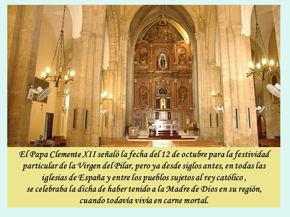 En 1438 se escribió un Libro de milagros atribuidos a la Virgen del Pilar, que contribuyó al fomento de la devoción hasta el punto de que, el rey Fern
