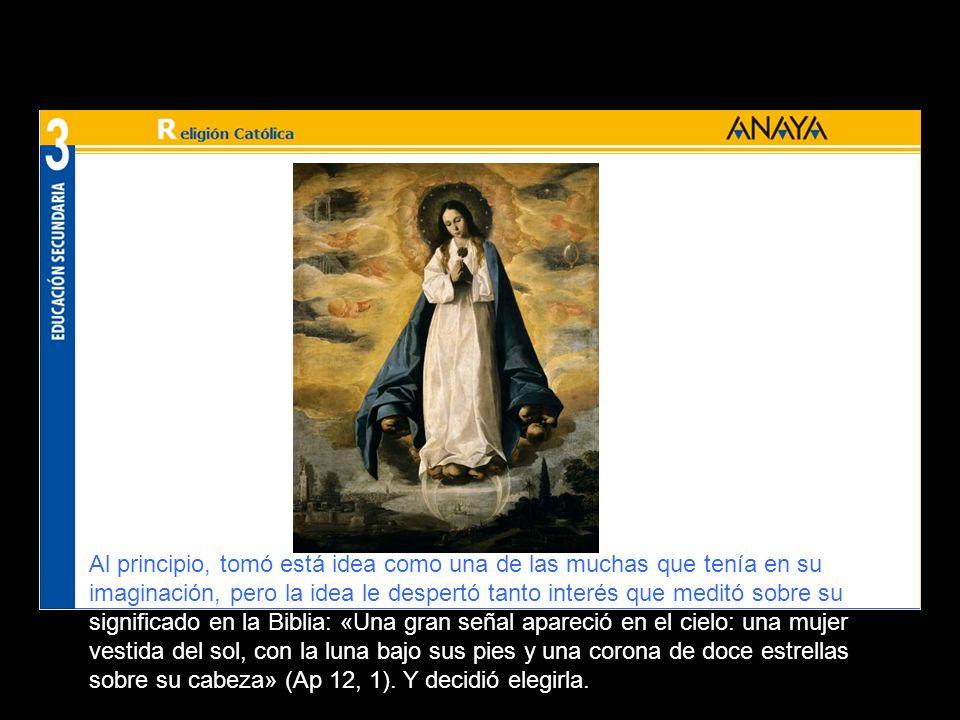 «En aquellas fechas, leía la historia de las apariciones de la Santísima Virgen en la Rue du Bac de Paris, que hoy es conocida como la Virgen de la Me