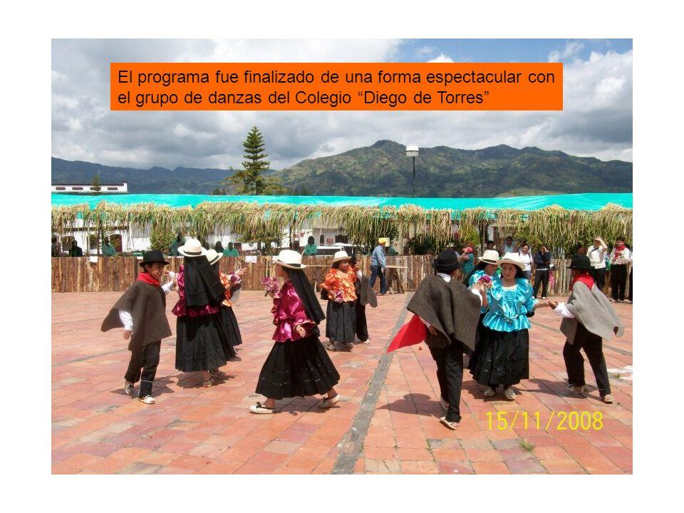 Concurso de música campesina donde resultó vencedor el grupo Do Mayor de San Pedro de Iguaque.