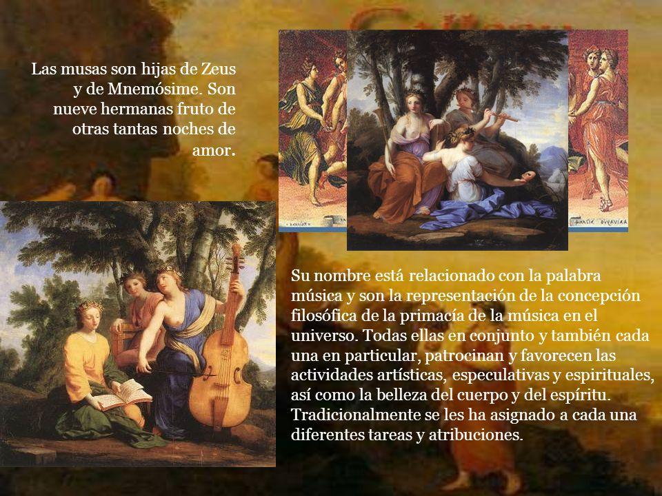 Realizado por: AZAHARA LÓPEZ CARRASCO NOELIA LÓPEZ CARRASCO Alumnas de Cultura Clásica II (I.E.S. Fuente de la Peña -Jaén-) CERTAMEN DE Las Musas y La