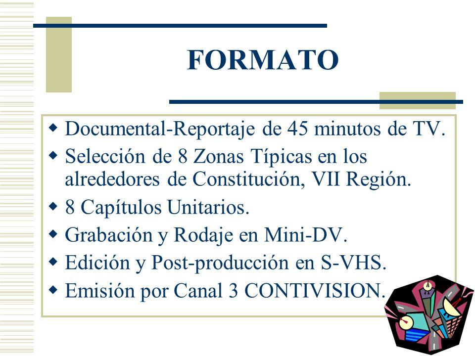 CAPITULO 8 CONSTITUCION: Ciudad centenaria, vinculada a la historia de Chile y a la pacificación araucana.