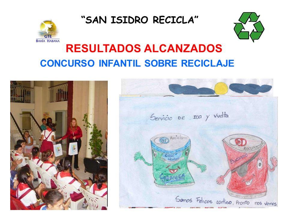 SAN ISIDRO RECICLA RESULTADOS ALCANZADOS CONCURSO INFANTIL SOBRE RECICLAJE