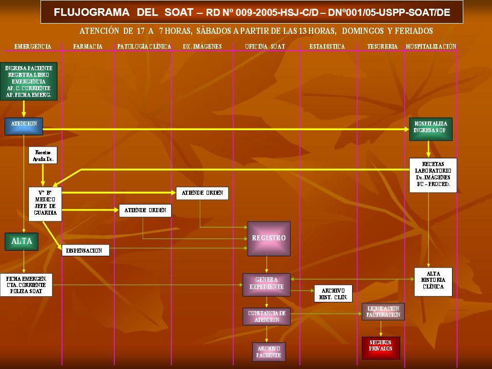 HOSPITAL SAN JOSE NIVEL II - 2 UNIDAD DE SEGUROS PUBLICO Y PRIVADOS PROCESO PRESTACIONAL DEL S.