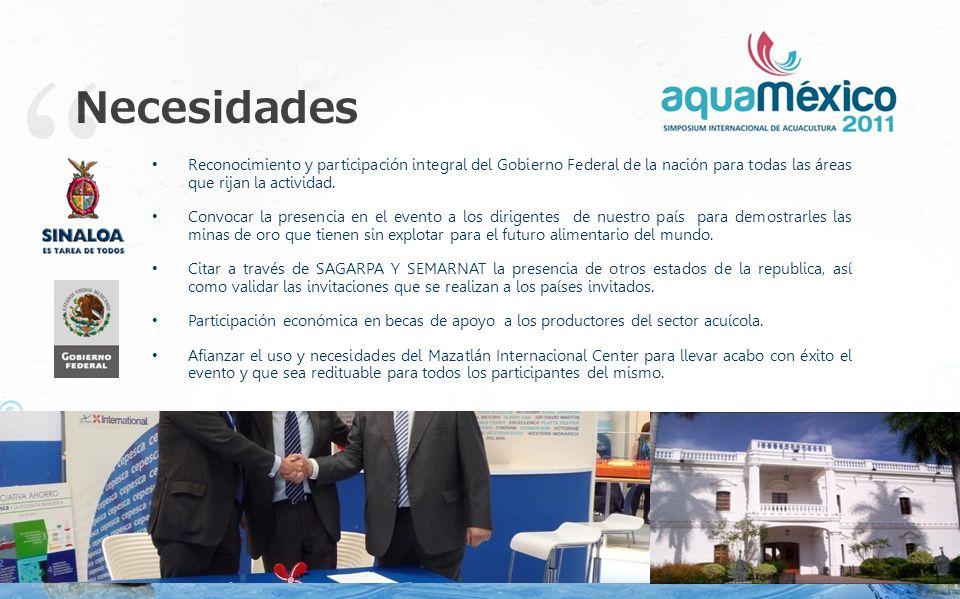Sede El evento se llevará a cabo en el Centro Internacional de Convenciones de Mazatlán, Sinaloa los días: 17, 18 y 19 de Noviembre Mazatlán, Sinaloa, México