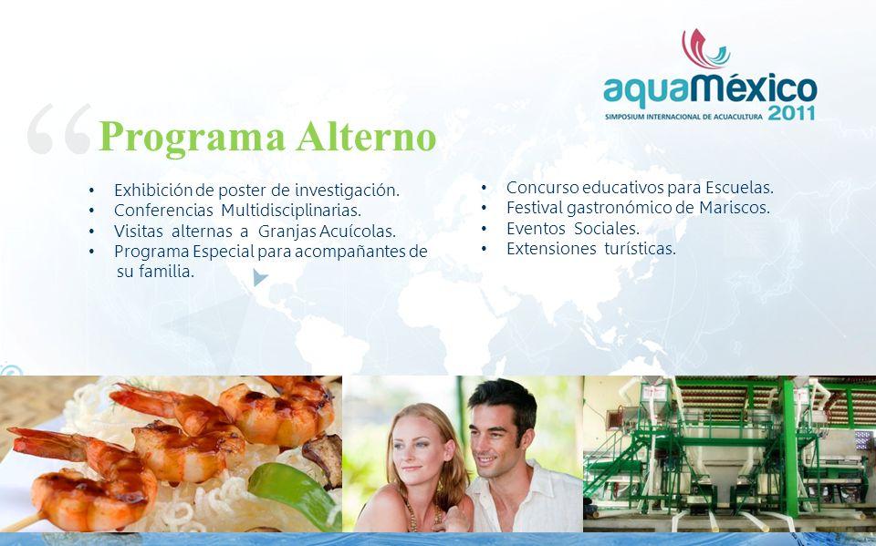 Programa Alterno Exhibición de poster de investigación.