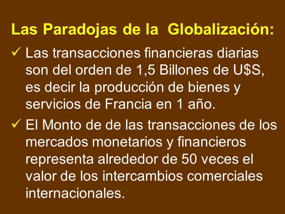 La Globalización: Es la principal característica del Postcapitalismo. Es el proceso por el que las economías nacionales se integran progresivamente en