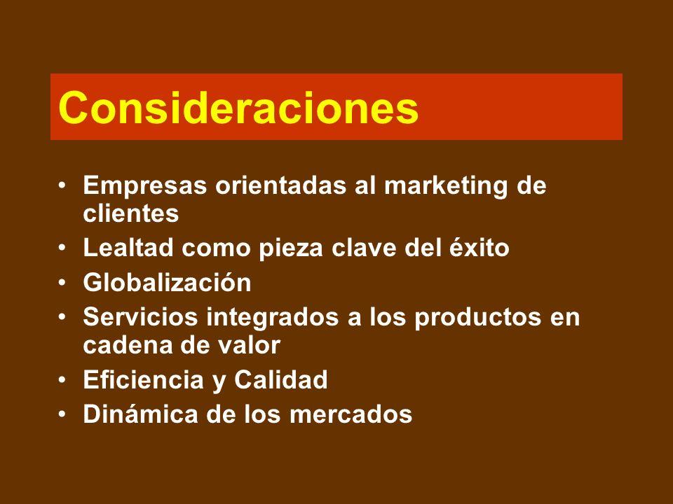 Marketing de relación Proceso de crear, mantener e intensificar relaciones firmes, valiosas, con los clientes y otros interesados. Se basa en la idea