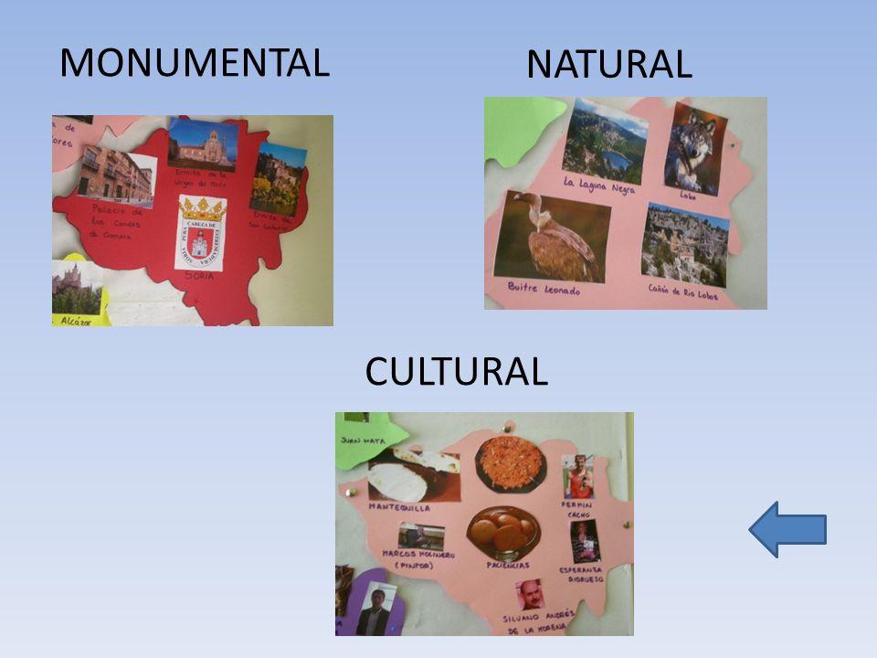 CULTURA L NATURAL MONUMENTAL