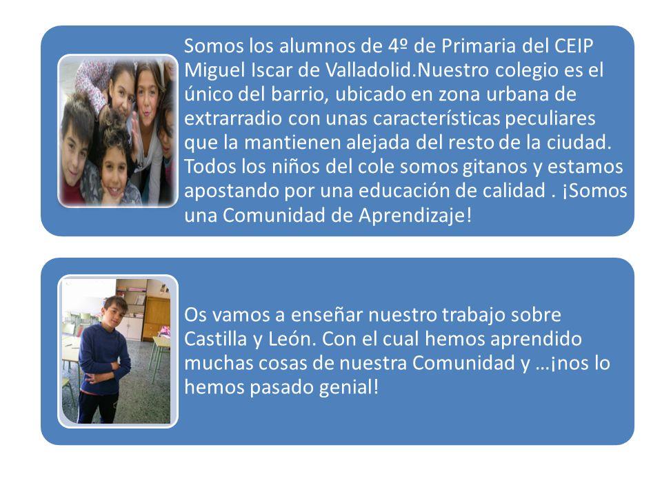 Concurso «Día de Castilla y León en clase»