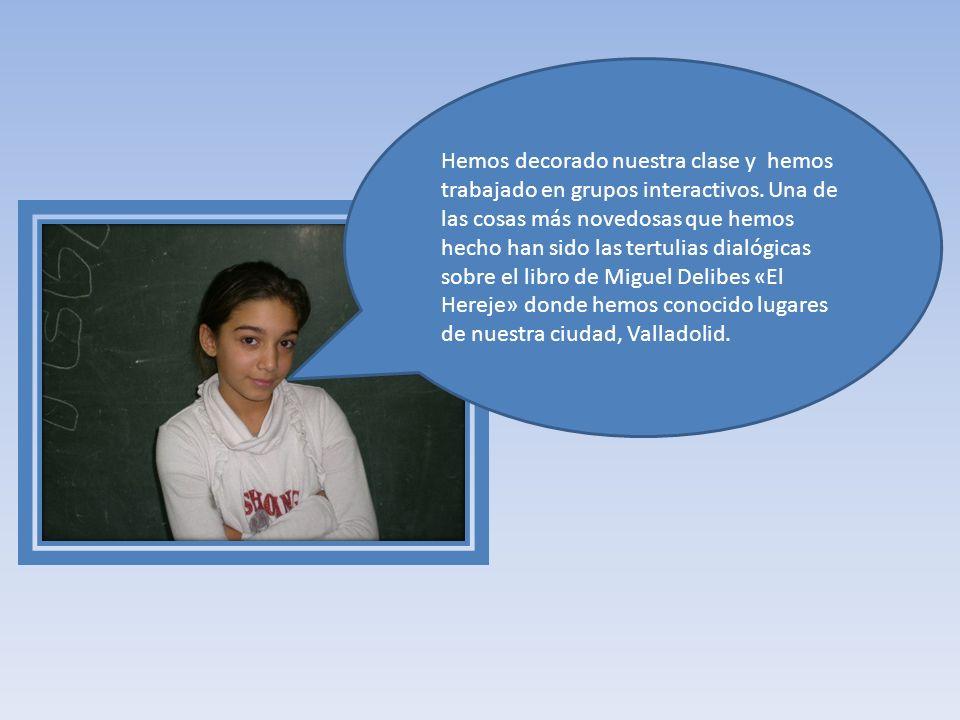 Somos los alumnos de 4º de Primaria del CEIP Miguel Iscar de Valladolid.Nuestro colegio es el único del barrio, ubicado en zona urbana de extrarradio