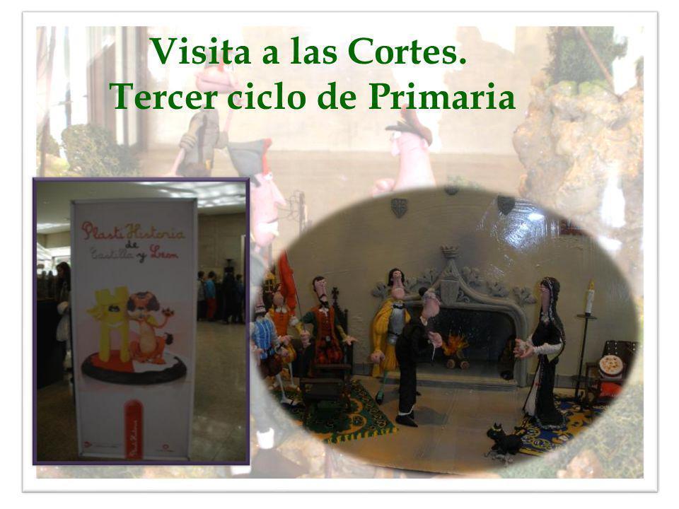 Visita a las Cortes. Tercer ciclo de Primaria