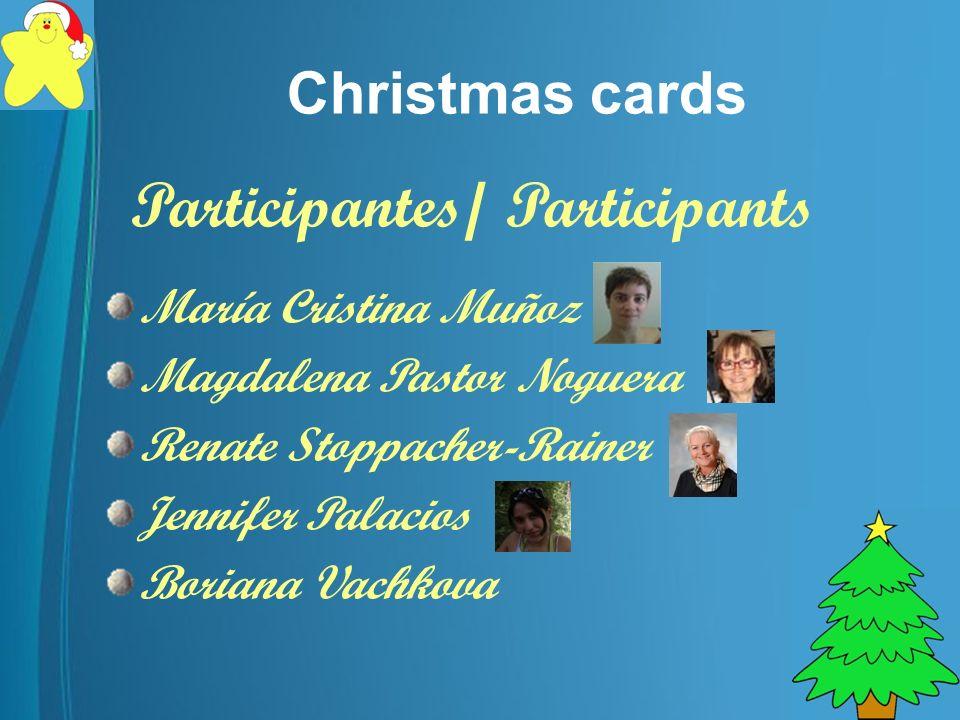 Christmas cards Proyecto eTwinning España, Bulgaria, Austria y Chile 2010/11