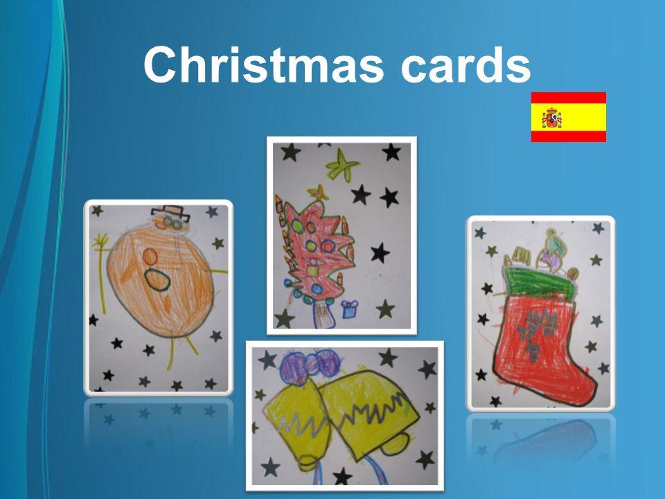 Christmas cards Tarjetas de los alumnos de la EEI. Pipiripao de Cartagena – Murcia - España