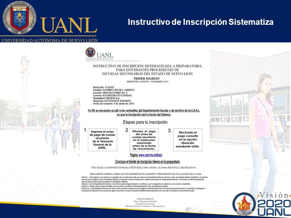 Instructivo de Inscripción Sistematiza