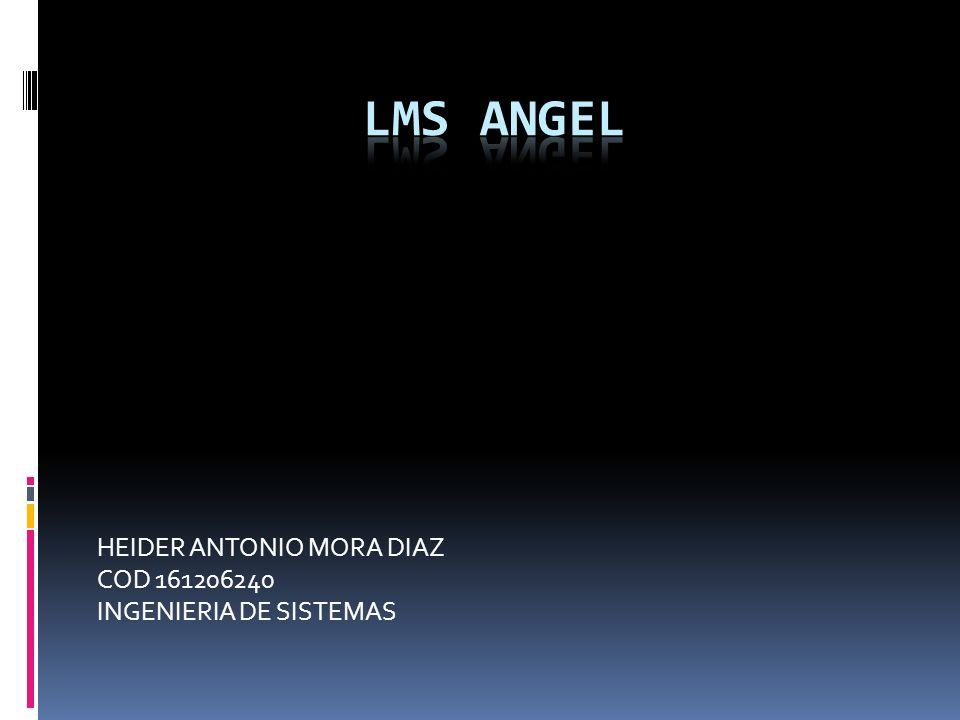 HEIDER ANTONIO MORA DIAZ COD 161206240 INGENIERIA DE SISTEMAS