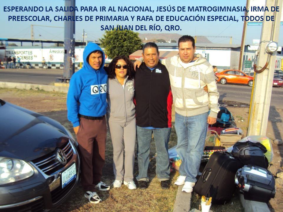 A TOD@S MIS FAMILIARES, L@S AMIG@S Y PERSONAS QUE ME APOYARON INCONDICIONALMENTE EN TODO MOMENTO, A TODAS ESAS PERSONAS QUE VIA CELULAR O POR CORREO ME ENVIARON PALABRAS DE ALIENTO A LA HORA IMPORTANTE, A TODOS USTEDES LES DEDICO ESTA MUY SIGNIFICATIVA SATISFACCIÓN DE NIVEL NACIONAL, NO ME QUEDA MAS QUE DECIRLES: MUCHAS GRACIAS POR ESTAR SIEMPRE CONMIGO!!!