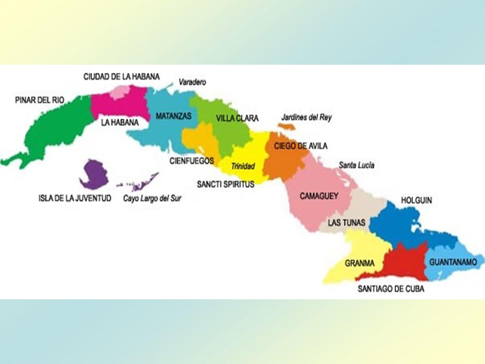 Situada en la entrada del Golfo de México, en pleno Mar Caribe, la República de Cuba es en realidad un archipiélago formado por la Isla de Cuba, la Isla de la Juventud (considerado municipio especial) y por 4 195 cayos e islotes que en total alcanzan una superficie de 110 922 Km2.