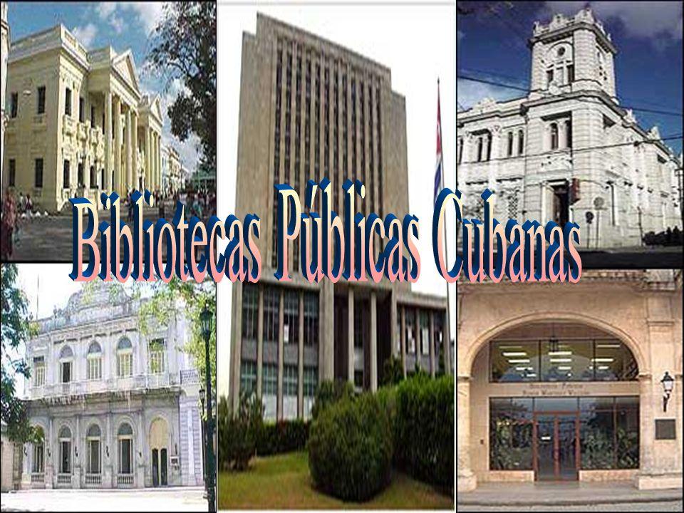 El desarrollo de la red de Bibliotecas Públicas en Cuba se fortalece a partir de las transformaciones ocurridas al triunfo de la Revolución.
