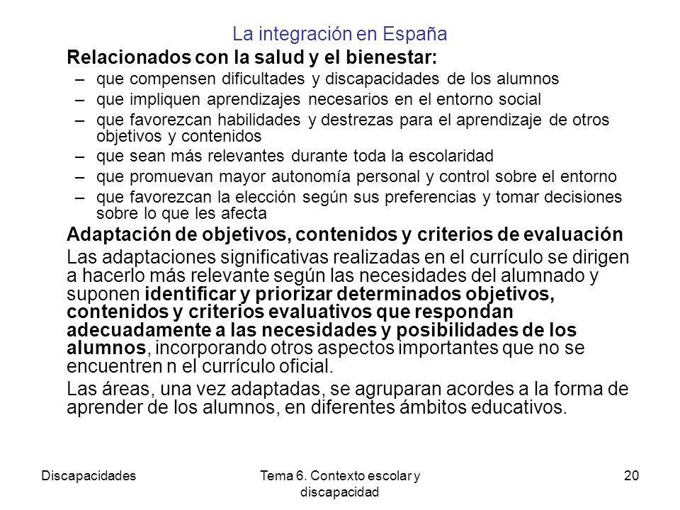 DiscapacidadesTema 6.
