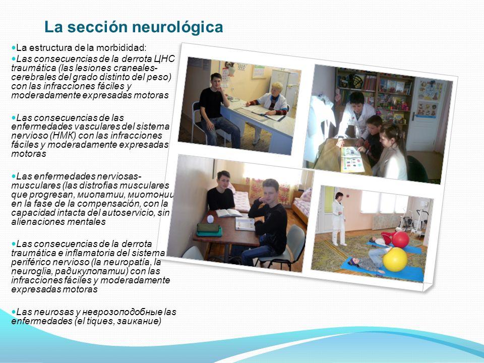 La base del programa de la rehabilitación psihologo- pedagógica es compuesta por el trabajo de los niños con los materiales naturales y artificiales, también la ocupación en los talleres teatrales, artísticos, musicales y ecológicos.