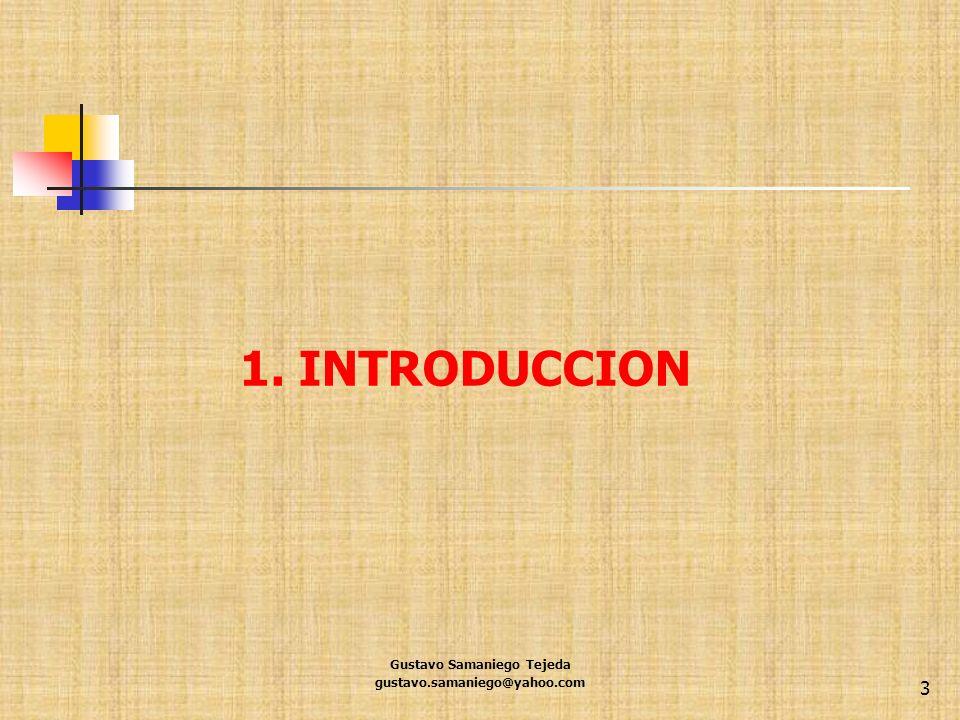Gustavo Samaniego Tejeda gustavo.samaniego@yahoo.com 54 Importancia de la diferenciación Estrategia clave de los negocios actuales.