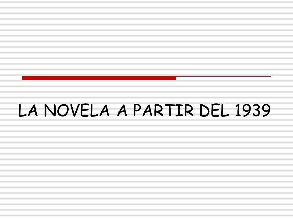 DÉCADA DE LOS 50 TEMAS Y ESTILO El tema de la novela de esta década es la propia sociedad española.