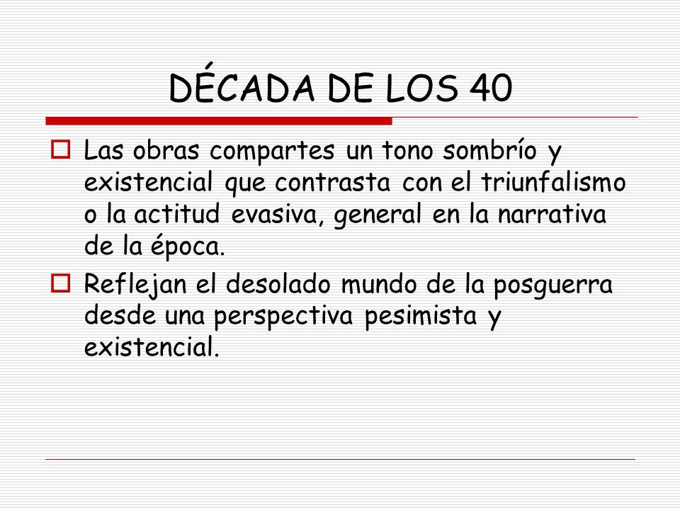 AUTORES En el realismo social destaca Camilo José Cela con su obra La colmena.