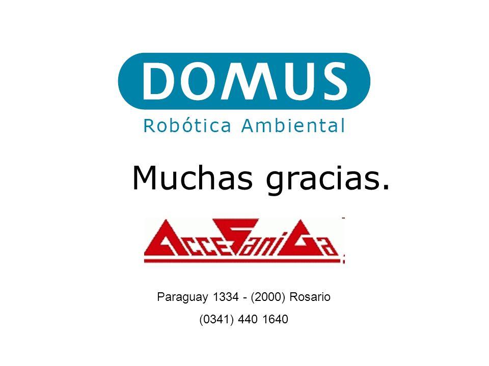 Muchas gracias. Paraguay 1334 - (2000) Rosario (0341) 440 1640