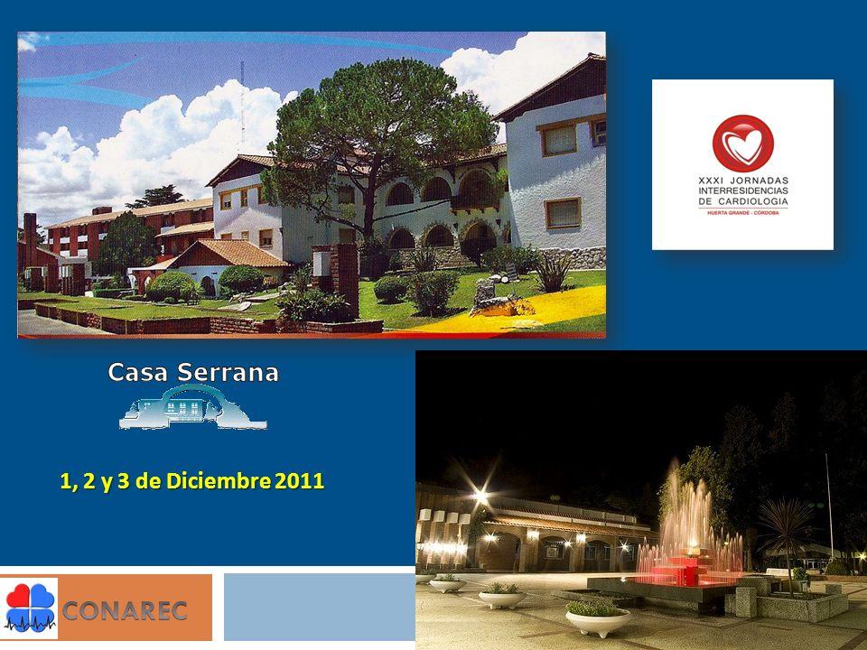 1, 2 y 3 de Diciembre 2011