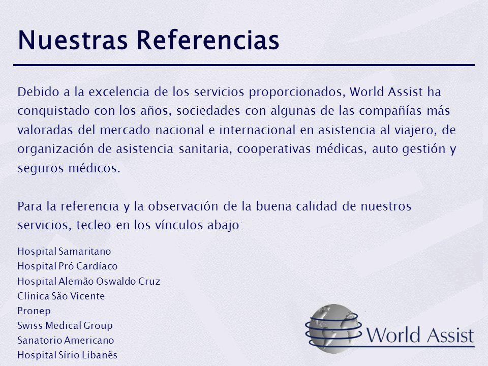 Nuestra red preferencial en el Brasil y los E.E.U.U.