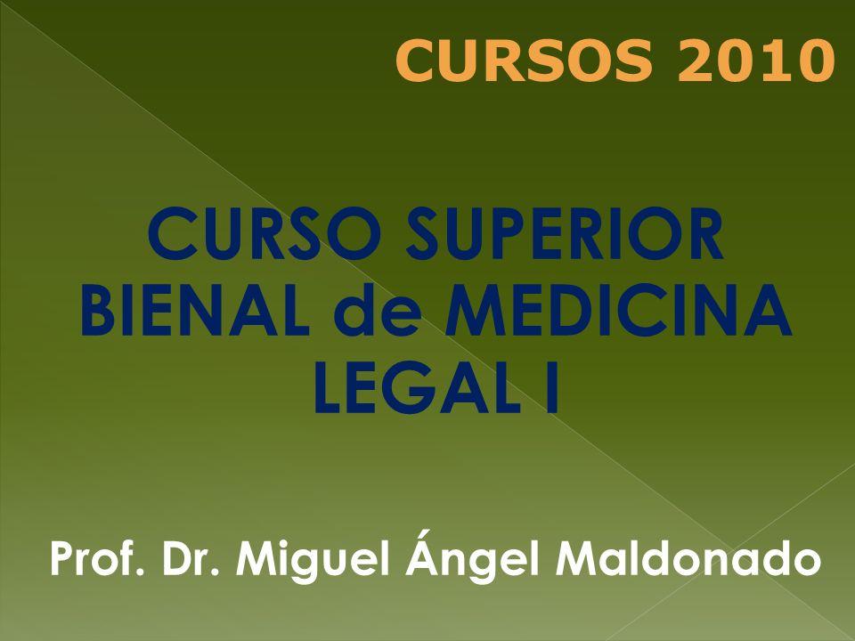 CURSO SUPERIOR TRIENAL de CLÍNICA MÉDICA I, II y III Prof. Dr. Horacio Carbajal CURSOS 2010
