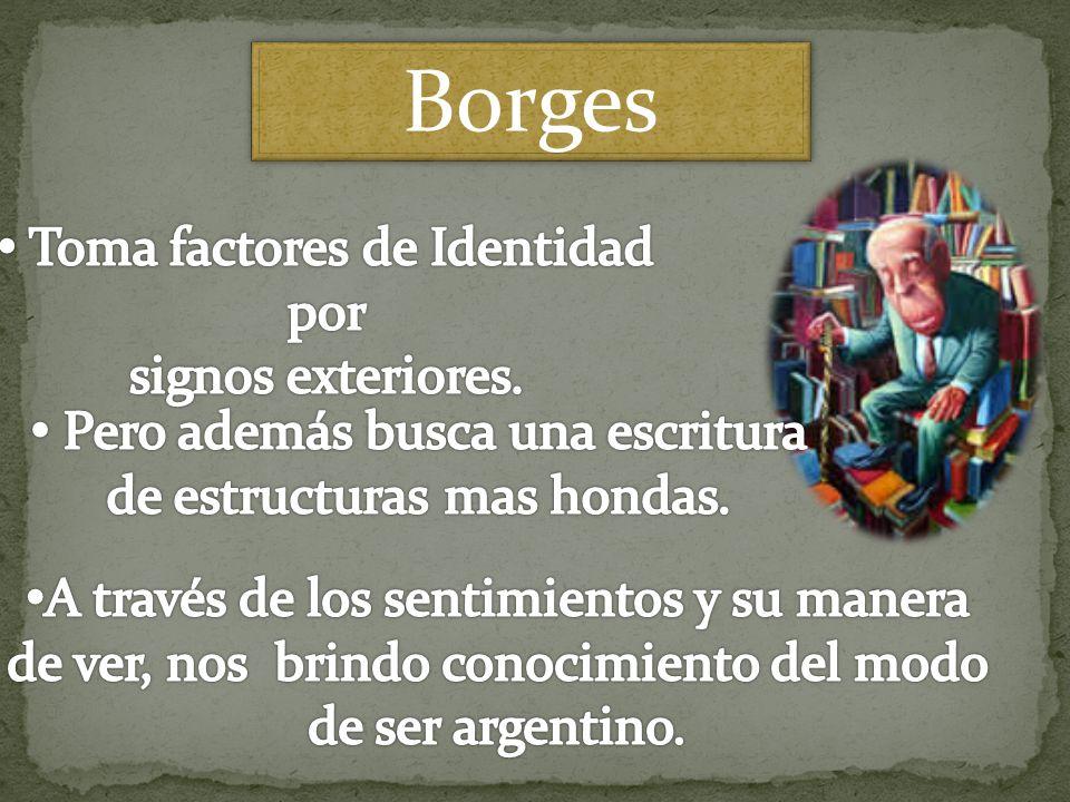 Signos Exteriores SignosDescripción Paisaje Pampas: inmensas llanuras fértiles.