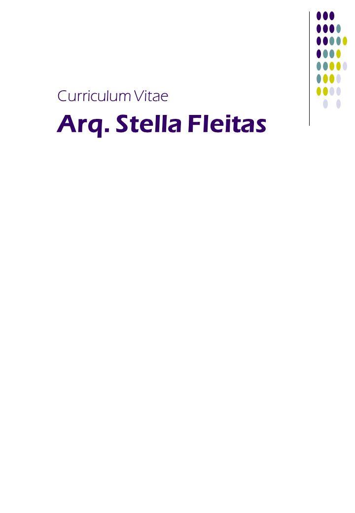 Curriculum Vitae Arq. Stella Fleitas