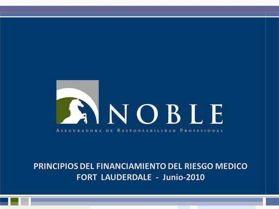 PRINCIPIOS DEL FINANCIAMIENTO DEL RIESGO MEDICO FORT LAUDERDALE - Junio-2010