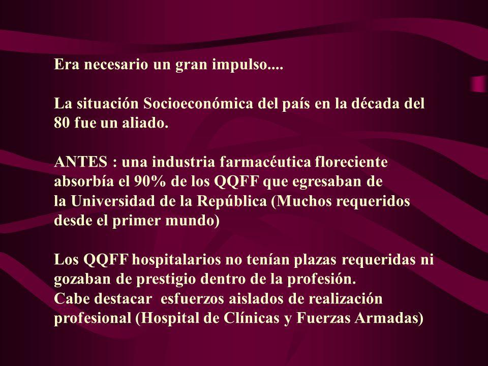 YA TENÍAMOS EL RESPALDO LEGAL, PERO SIEMPRE FALTA ALGO..... FORMACIÓN ACADÉMICA CURRICULAR !!