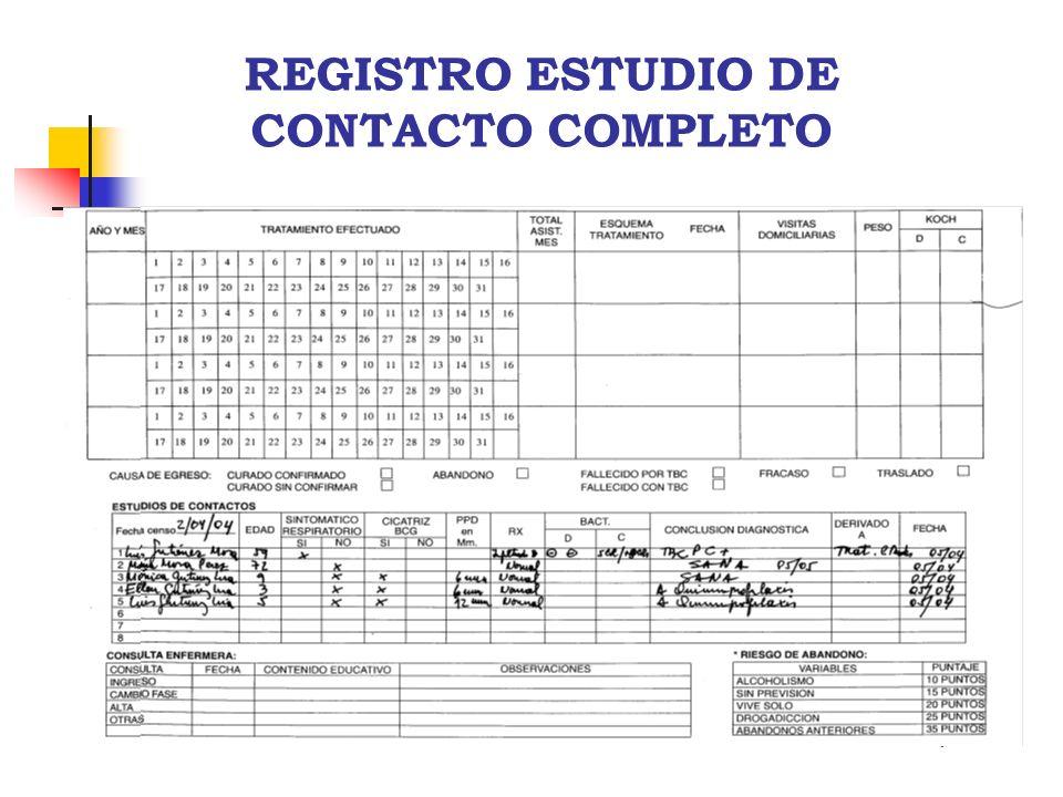 REGISTRO ESTUDIO DE CONTACTO COMPLETO