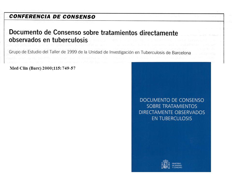 Med Clin (Barc) 2000;115: 749-57