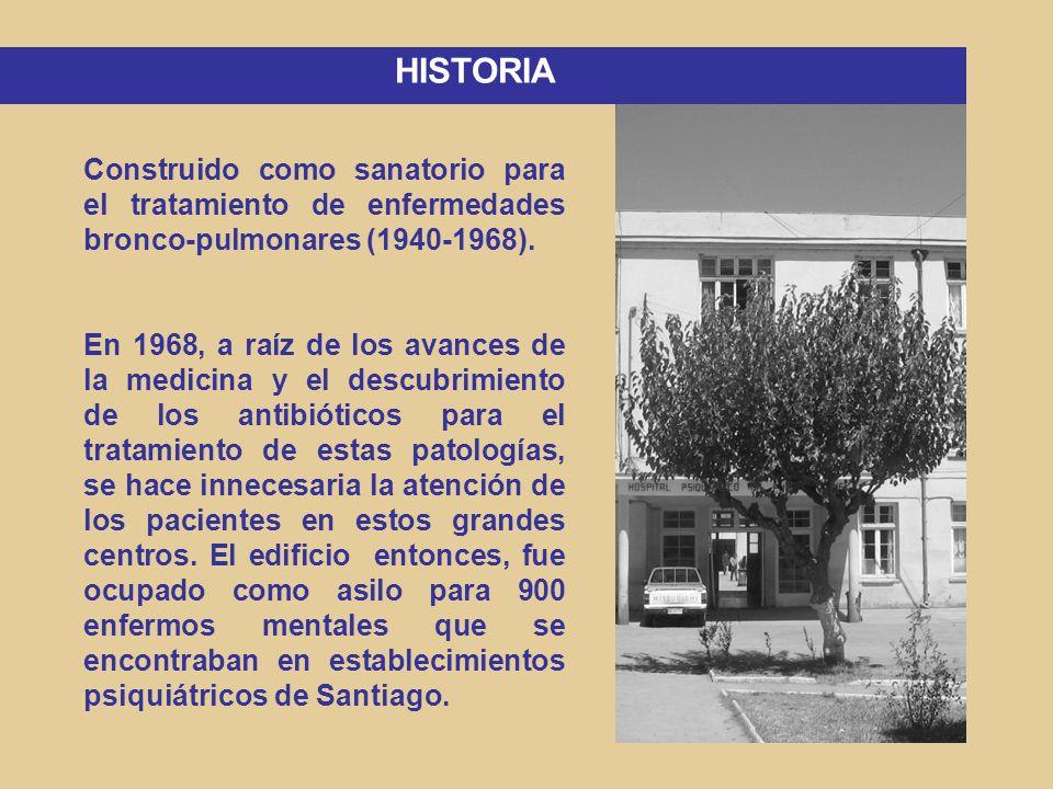 PERIODO CUSTODIAL (1968-1976) Personal no preparado para trabajar en psiquiatría.
