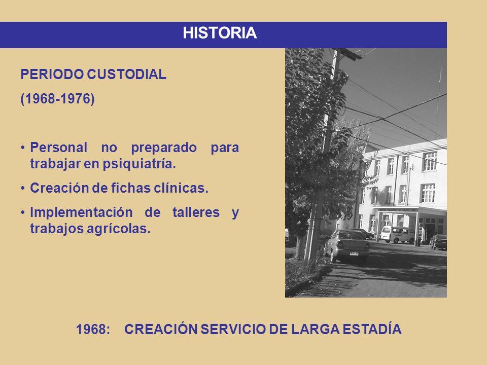 PERIODO MEDICO ASISTENCIAL (1976-1989) Capacitación al personal.