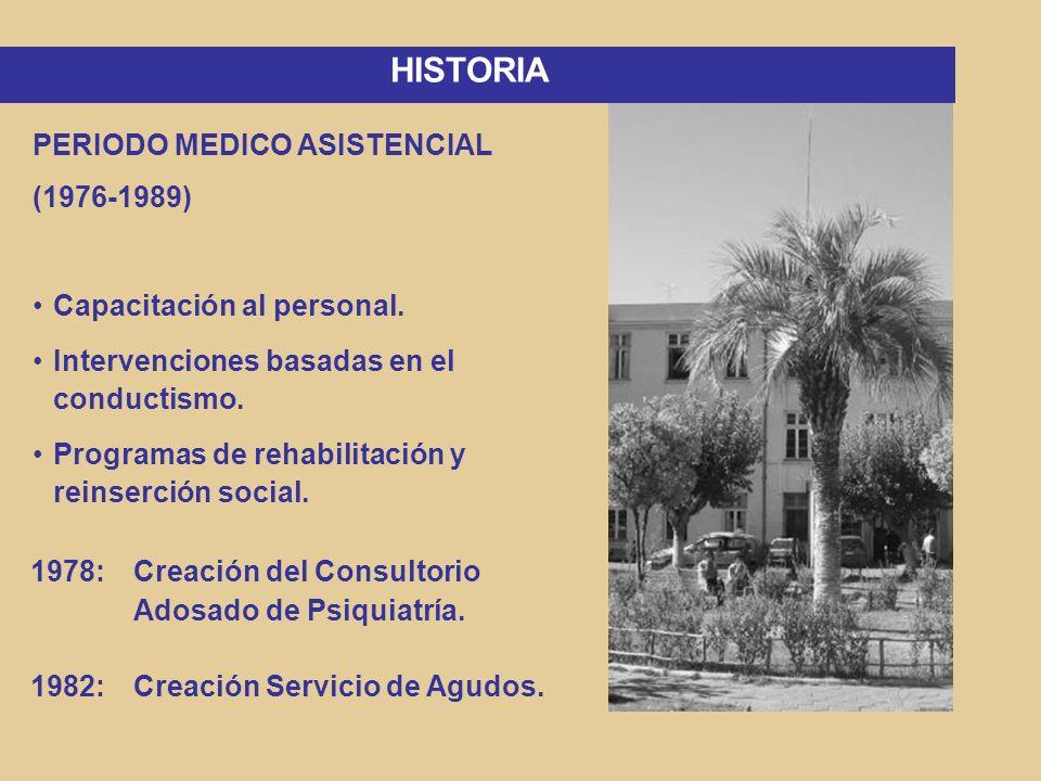 PERIODO DE APERTURA Y REFORMAS (1990- 2000) Adherencia a la Reforma Psiquiátrica Chilena.