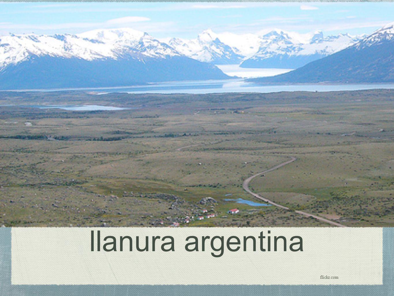 llanura argentina flickr.com
