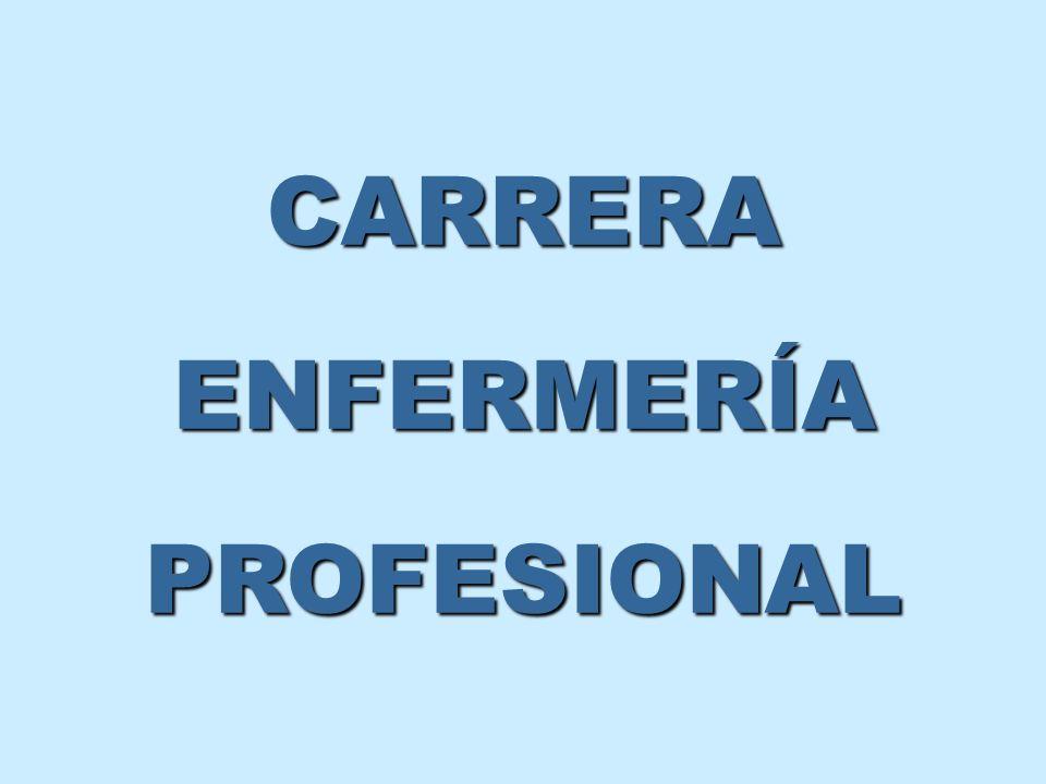 CARRERA ENFERMERÍA PROFESIONAL