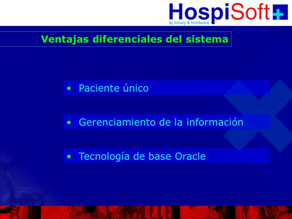 Paciente Único Servicios Turnos Internación Admisión Egresos Facturación Estudios Complementarios H.C.