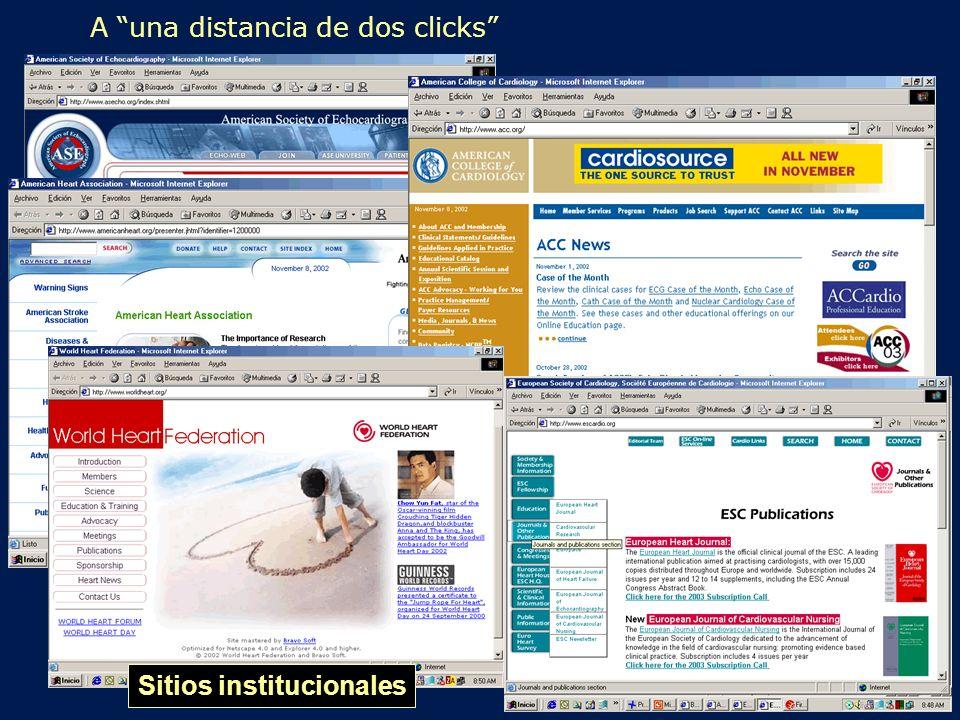 2do click Sitios institucionales