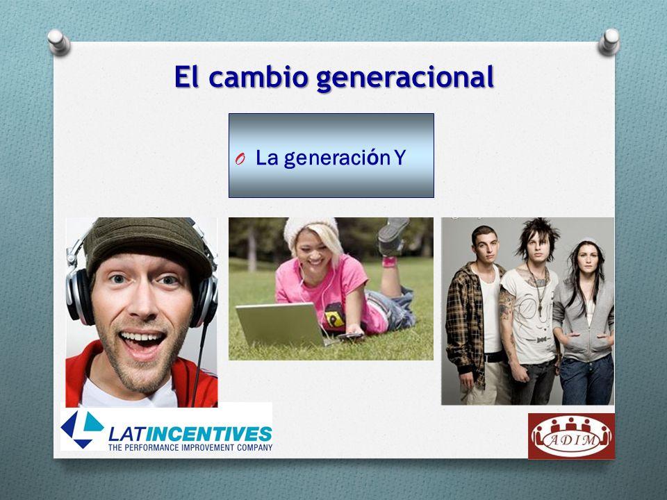 O La generaci ó n Y El cambio generacional