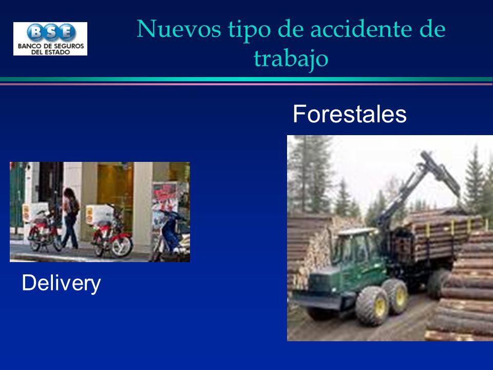 Nuevos tipo de accidente de trabajo Forestales Delivery