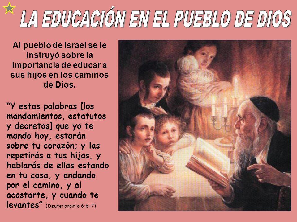A partir de 1872 Elena White recibió diversas visiones sobre los principios de la educación cristiana que se materializaron en sus consejos sobre: El estudio de la Biblia como la educación principal.